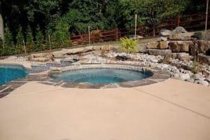 Landscaping After Pool Installation